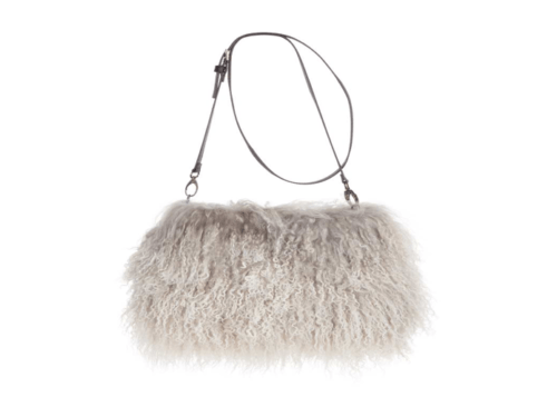 Jasmin Sheepskin Muff Bag