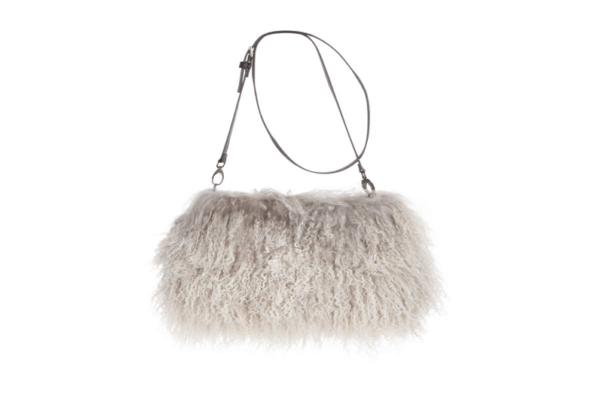 Jasmin Sheepskin Muff Bag